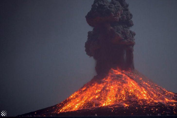 الإنفجار البركاني