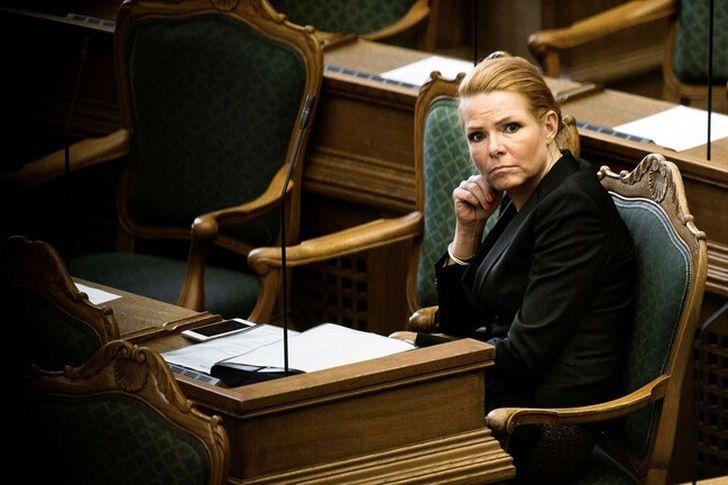 الوزيرة الدنماركية