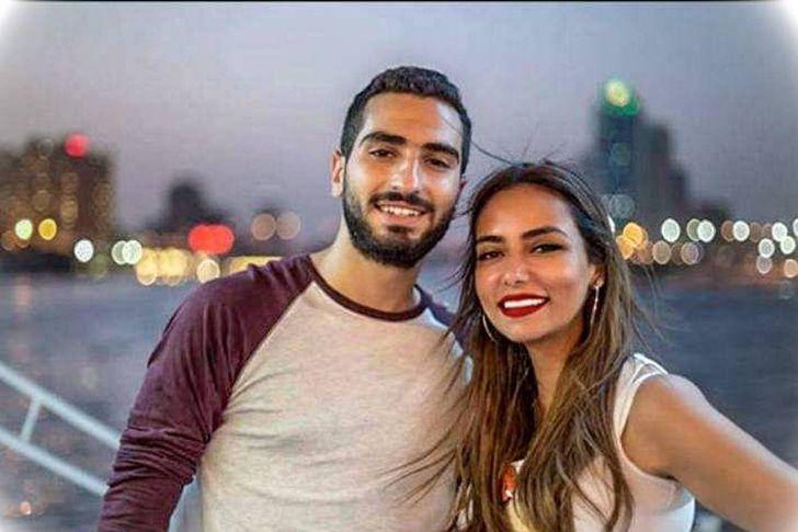 محمد الشرنوبي وسارة الطباخ