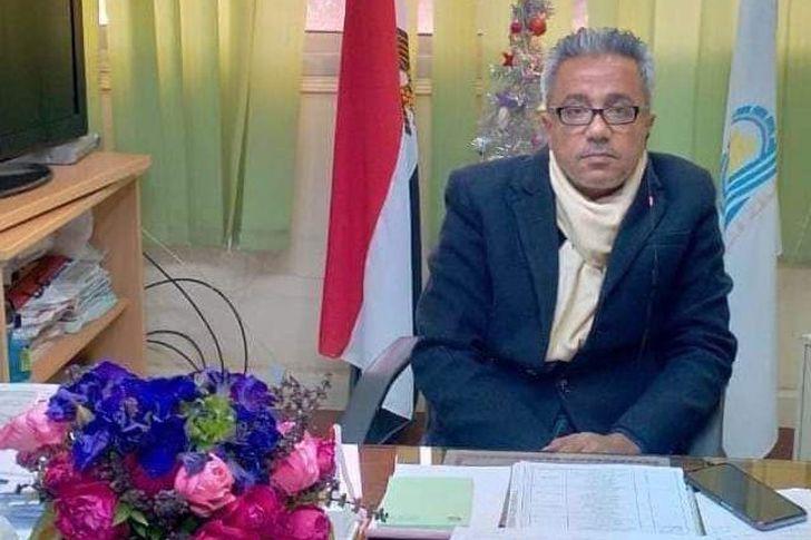 الدكتور راجي تاوضروس وكيل وزارة الصحة في قنا