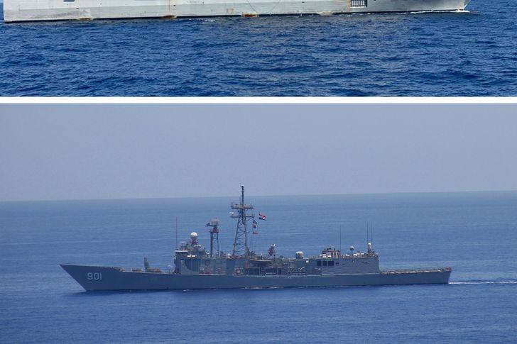 القوات البحرية المصرية والأسبانية