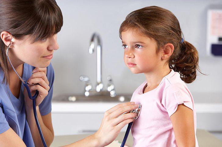 الم الصدر عند الأطفال
