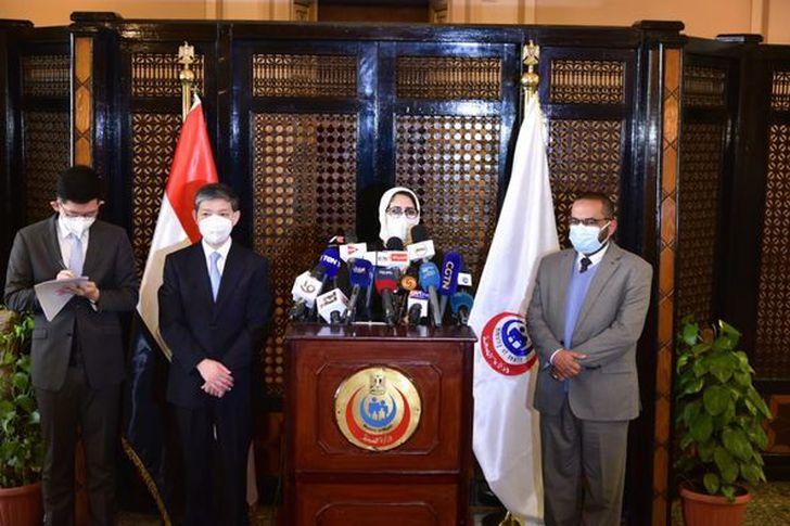وزيرة الصحة تتحدث عن علاقة مصر بالصين بعد استلام 300 ألف جرعة لقاح سينوفارم