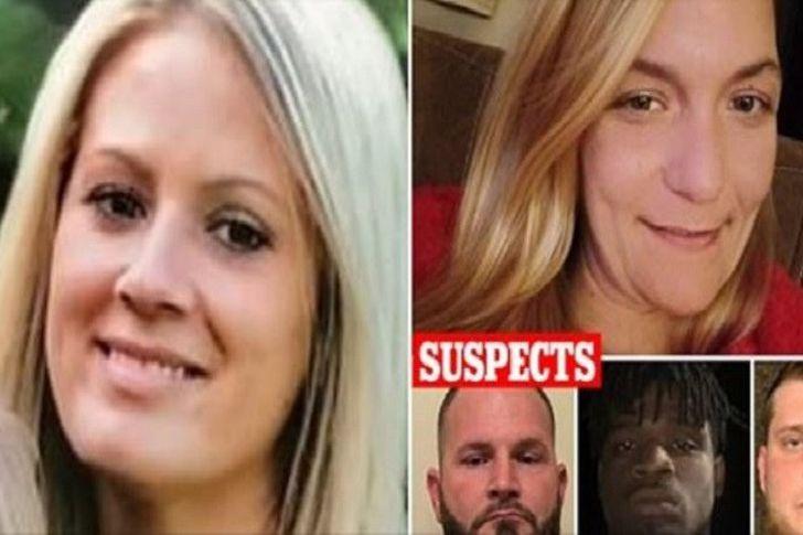 الضحيتين والثلاث متهمين