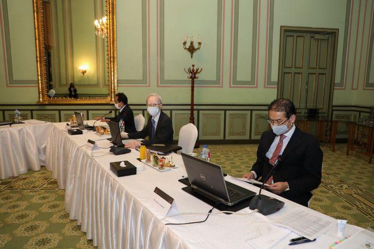 اجتماع اللجنة التوجيهية للشراكة بين الجانبين المصري والياباني