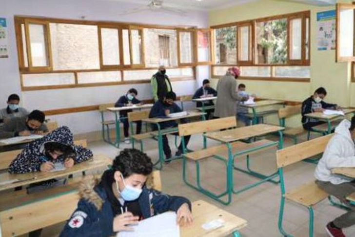 نماذج امتحانات الصف الأول الأعدادي لشهر أبريل 2021