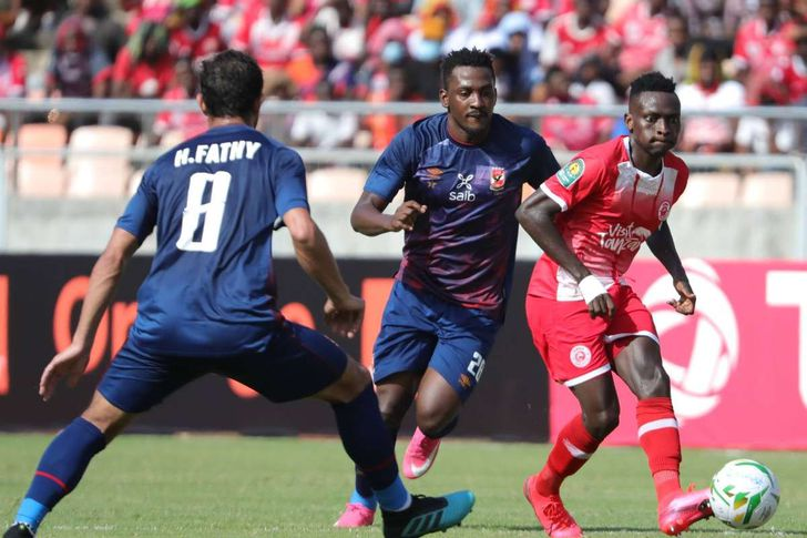 مباراة الأهلى وسيمبا التنزاني