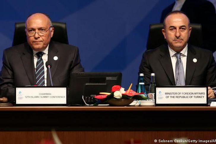 وزيرا خارجية مصر وتركيا