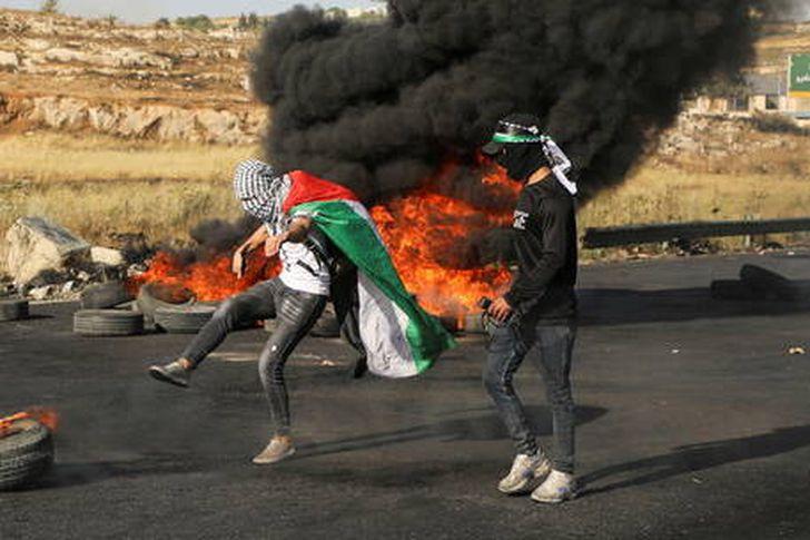 الأسير المضرب عن الطعام في فلسطين