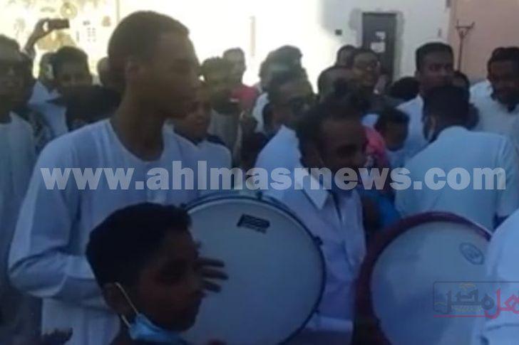 شباب النوبة يتضامنون مع الشعب الفلسطيني