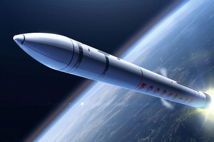 صاروخ فضائي