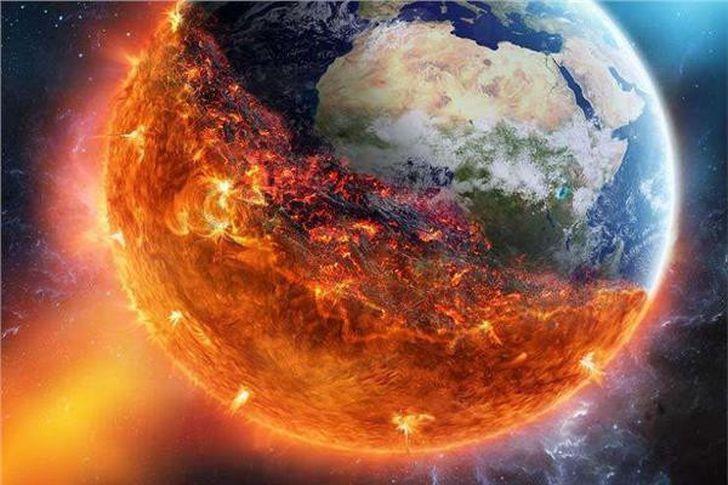 عاصفة شمسية تضرب الارض