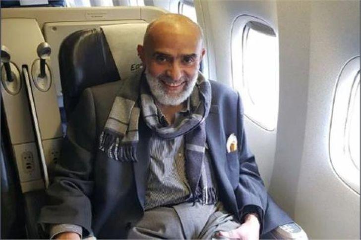 عودة رجل الأعمال أشرف السعد إلى مصر