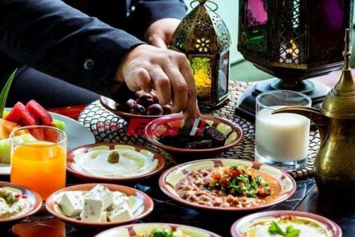 وجبة سحور اليوم الثلاثاء