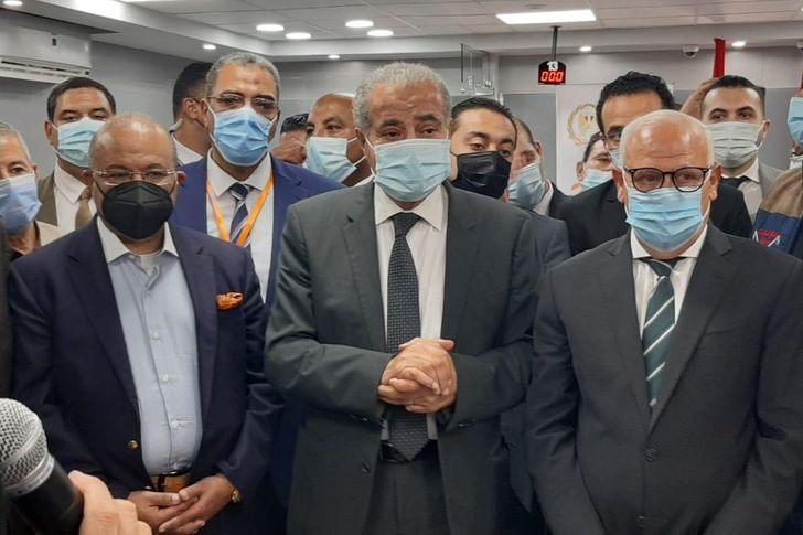 وزير التموين في بورسعيد