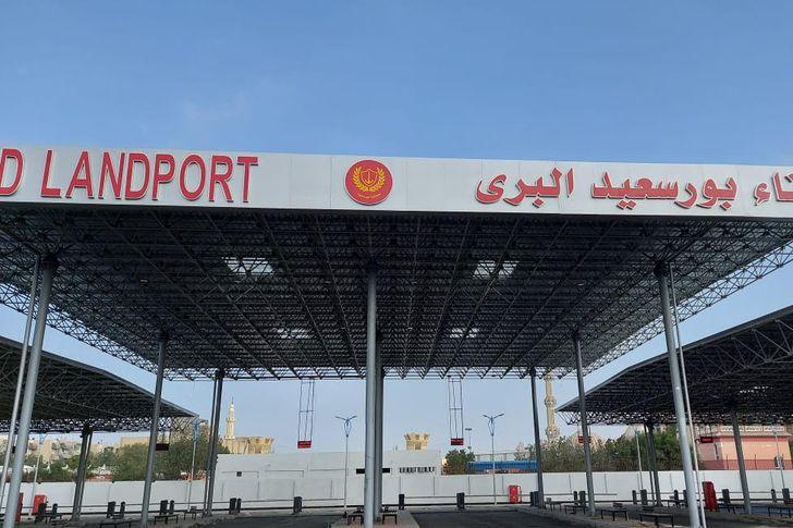 ميناء بورسعيد البرى