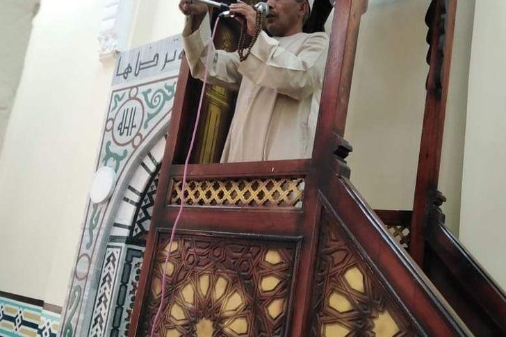 افتتاح مسجد الحساسنة بالأقصر