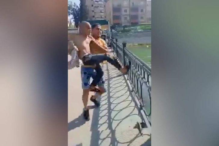 القبض على مرتكبى واقعة ألقاء طفل في مصرف