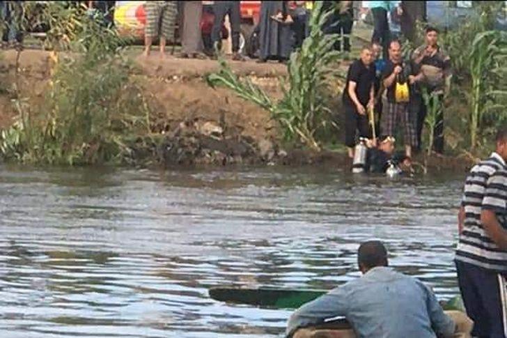 غرق شاب بنهر النيل في قنا .. ارشيفية