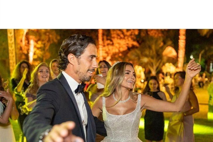 حفل زفاف ابنة علا غانم