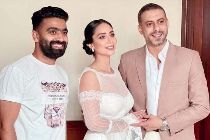 حفل زفاف محمد فراج وبسنت شوقي
