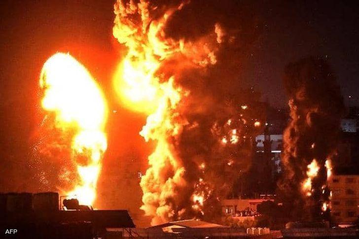 طيران الاحتلال يشن غارات على غزة