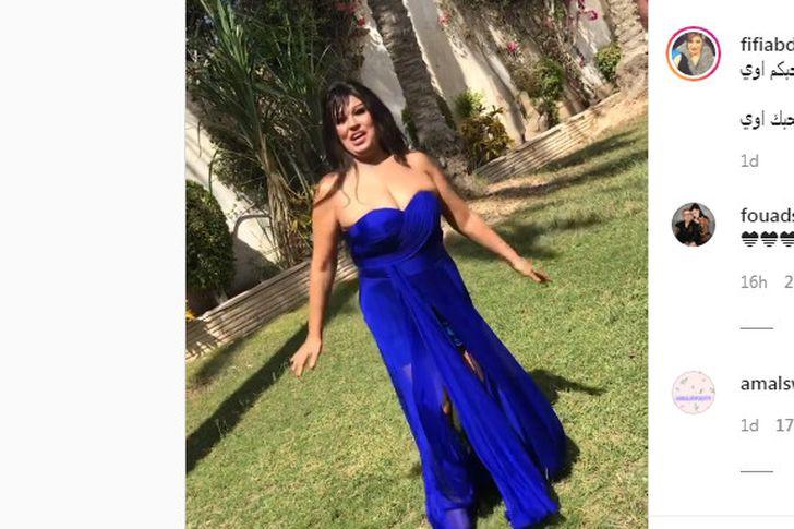 وصلة رقص مثيرة لـ فيفي عبده بفستان شفاف