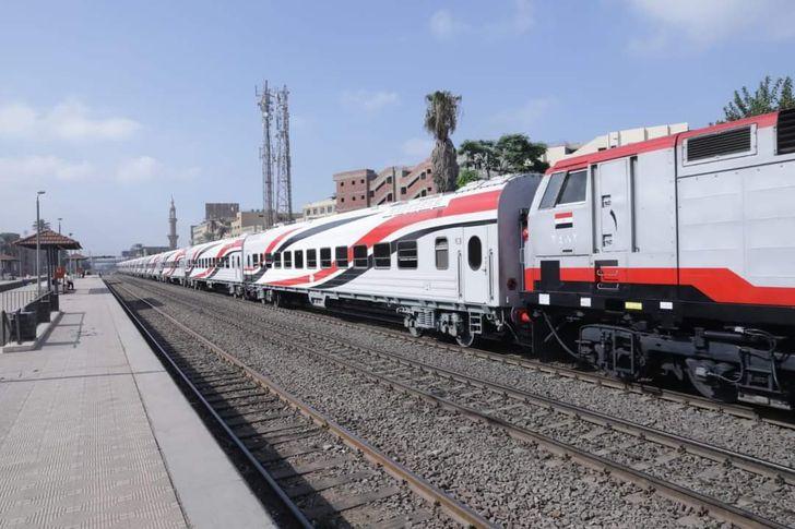 قطارات سكك حديد مصر
