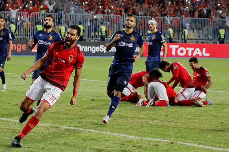 مباراة الاهلى والترجى التونسى