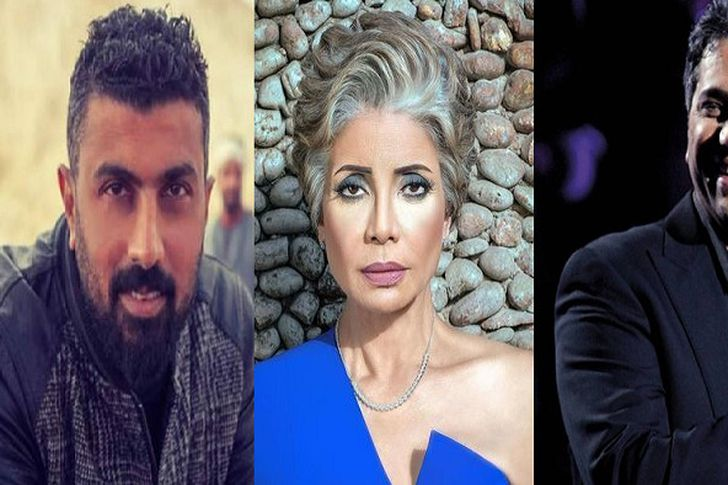 محمد سامي وسوسن بدر وفضل شاكر
