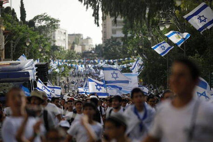 مسيرة اعلام القدس