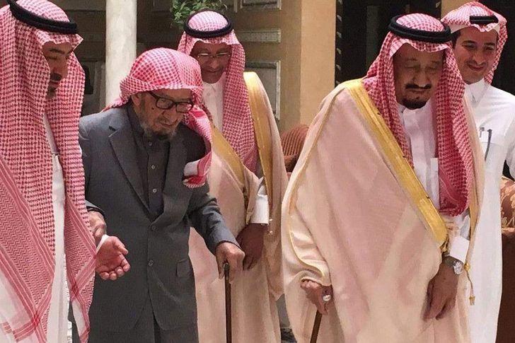 وفاة الشيخ ناصر بن عبدالعزيز مستشار الملوك بالسعودية
