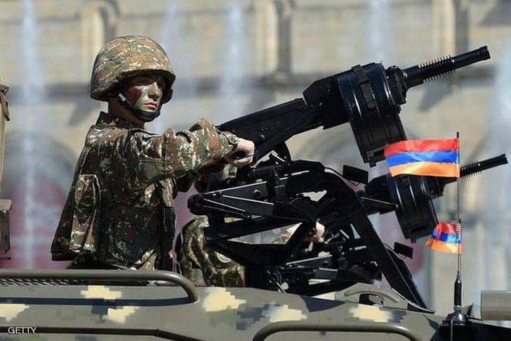 جندي على الحدود في ارمينيا
