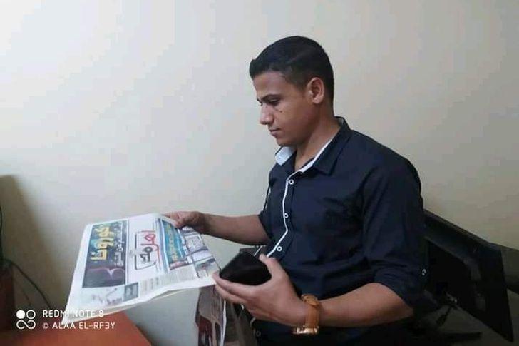 الصحفي حسين حمدان