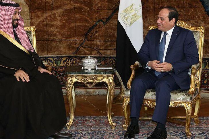 الملك سلمان وولي العهد السعودي يهنى الرئيس السيسي