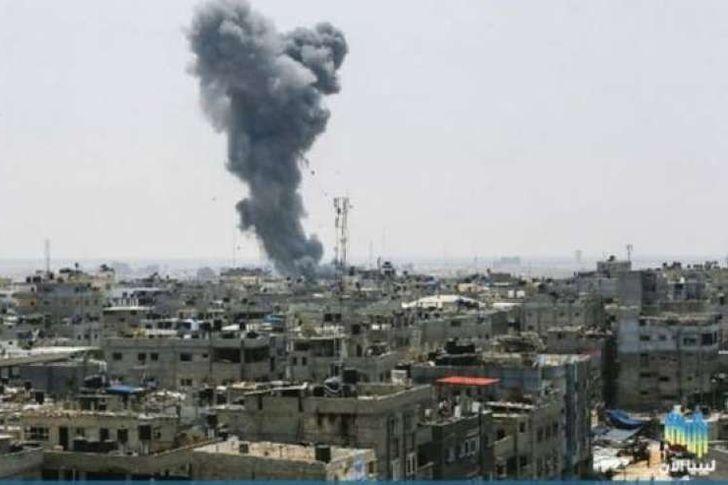 انفجار غزة