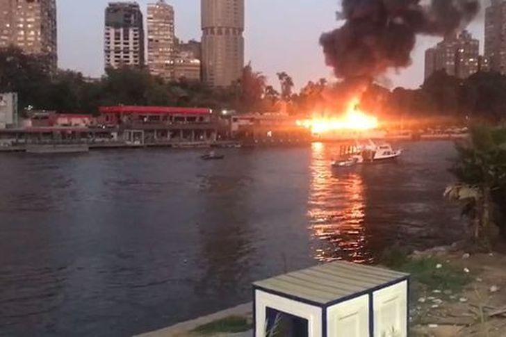 حريق نادي حرس الحدود