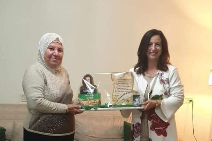 غيداء الزعبي اول عربية نائب رئيس الكنيست الاسرائيلي