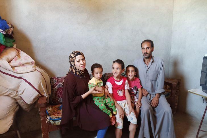 محررة أهل مصر داخل منزل أطفال الضمور في العضلات بأبوتشت في قنا