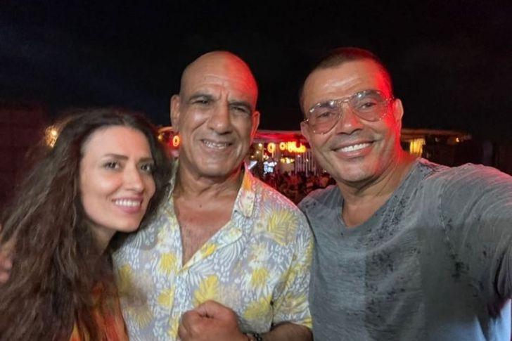 محمد لطفي مع عمرو دياب