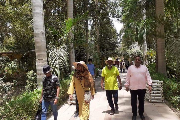 وزيرة خارجية السودان في أسوان