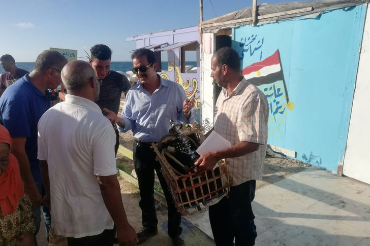 غرامات مالية جديدة على 14 من مستأجري الشواطئ بالإسكندرية