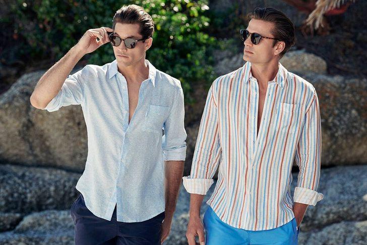 موضة الأزياء الرجالية لصيف 2021