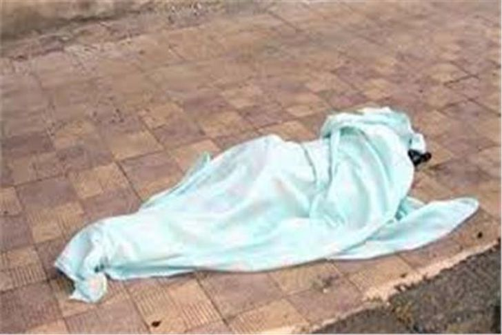 جثة في الشارع