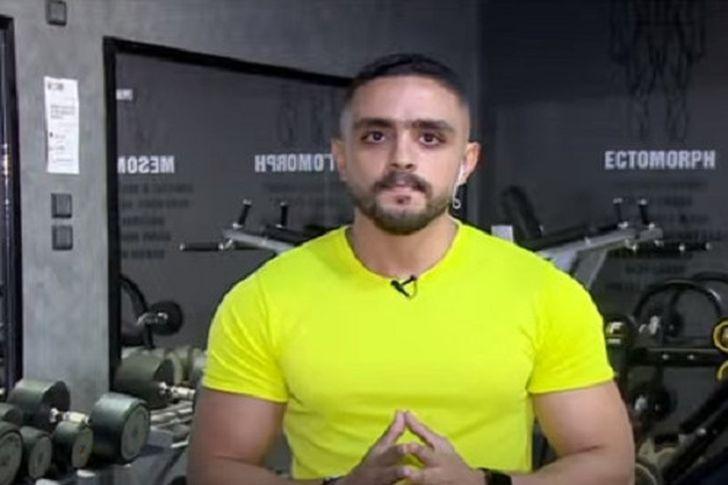 حسام مدحت مدرب اللياقة البدنية