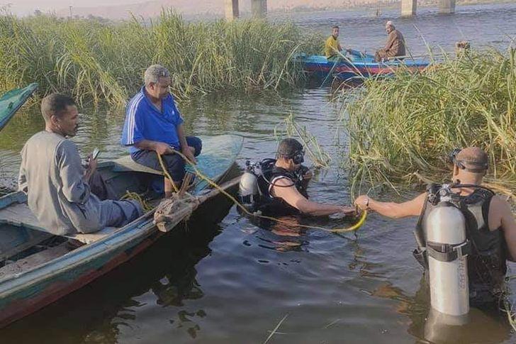 غرق شاب وفتاة في سوهاج