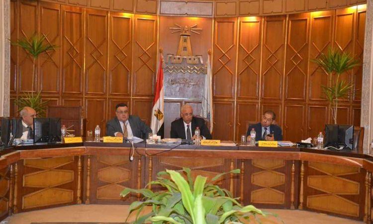 اجتماع مجلس جامعة الإسكندرية