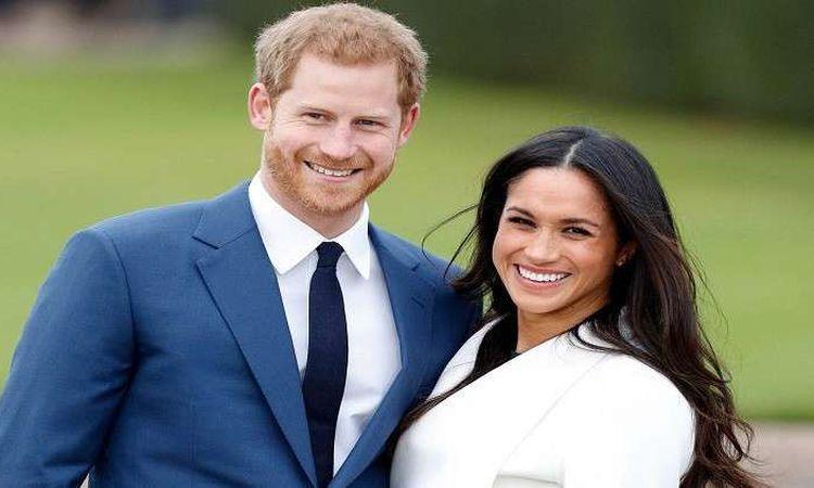 الأمير هاري وزوجته ميجان