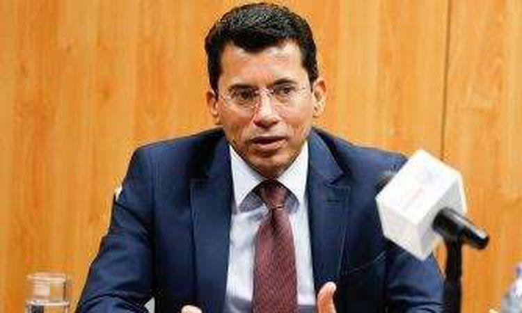 الدكتور أشرف صبحي وزير الرياضة