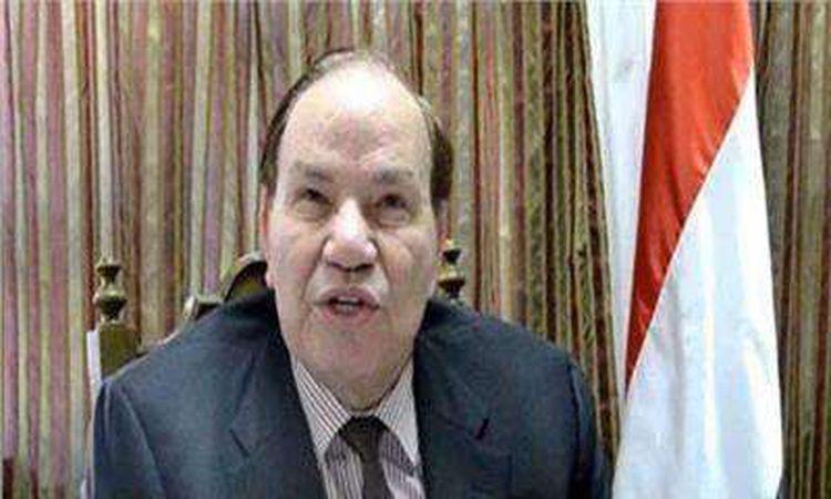 الدكتور صديق عفيفي الوزير السابق المفوض لدول حوض النيل